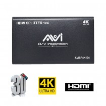 HDMI SPLITTER 1x4 4K