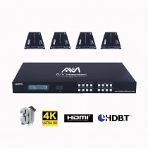 HDBaseT EXTENDER OVER CAT5e/6 CABLE