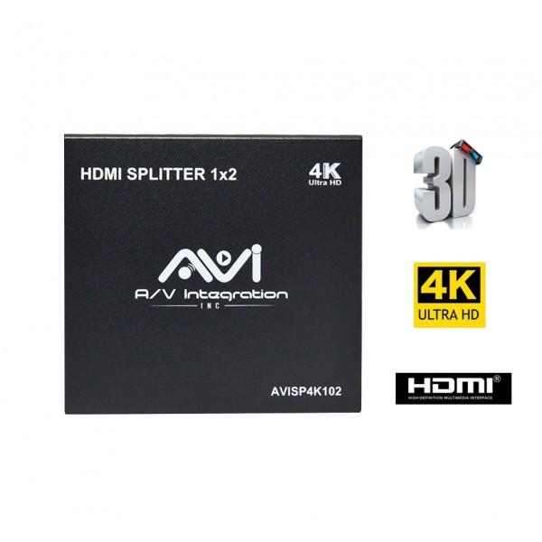 AVI HDMI Splitter 1x2 4K 3D V1 4 for Sale | Buy HDMI Two Way