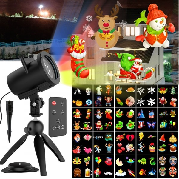 10w christmas led projector lights - Christmas Led Projector