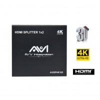 AVI HDMI Splitter 1x2 4K 3D V1.4