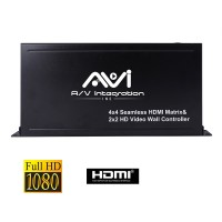 HDMI 4x4 Matrix, 2x2 Video wall