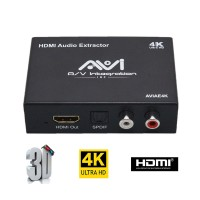 AVI HDMI Audio Extractor 4K UHD