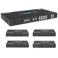 HDBaseT HDMI 4x4 Matrix 4K