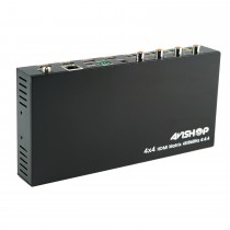 HDMI 4x4 Matrix Support 4K@60hz YUV4:4:4, 18Gbps, HDR