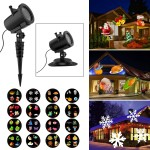 6W Christmas LED Projector Lights